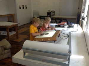 Children working in Annex