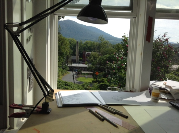 Studio in summer